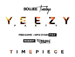 YEEZY Party comes to Timepiece