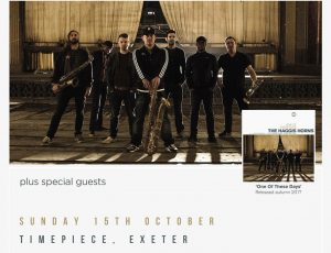 Exclusive gig with the Haggis Horns announced