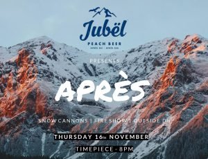 JUBËL Beer presents APRÈS