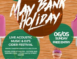 Summer is coming.. Bank holiday events announced