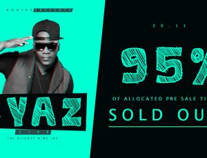 IYAZ Tickets 95% SOLD OUT